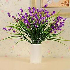 billige Kunstige blomster-Kunstige blomster 1 Gren Pastorale Stilen Planter Bordblomst