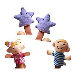 Prstová loutka Hračky Vysoká kvalita Nové hračky Chlapci / Dívčí Textil