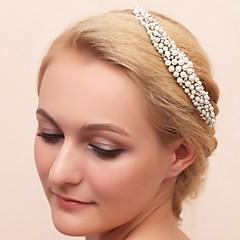 imitace perlové kubické zirkonie slitiny tiaras headpiece elegantní styl