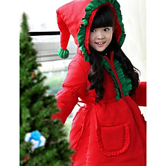 Santa Suits Cosplay Costumes Kid Christmas Festival/Holiday Halloween Costumes Solid