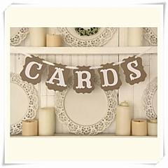 Verjaardag Bruidsshower Babyshower Hard Kaart Paper Bruiloftsdecoraties Klassiek Thema Lente Zomer Herfst Winter