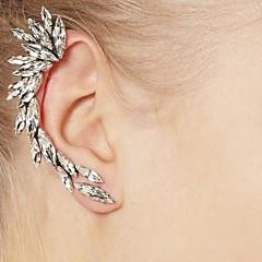 クリップイヤリング 合成ダイヤモンド 欧風 合成宝石類 ラインストーン 合金 ジュエリー 用途 日常 カジュアル