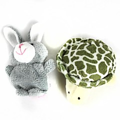 Fingerpuppe Rabbit / Tiere Zeichentrick Freizeit Hobbys Jungen / Mädchen Baumwolle / Plüsch
