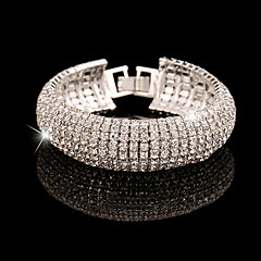 YUAN Fashion Casual High Quality Rhinestone Bracelet Gifts