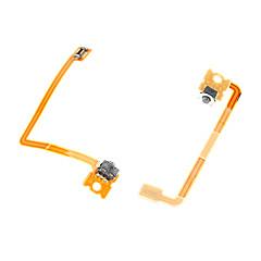 Botão lr 3dsxl cabo flex fita 2pcs parte 3ds xl reparação substituição