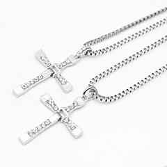 The Fast and the Furious vijf kruis zilver legering film hanger ketting (1 st)