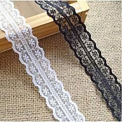 "1""DIY Flower Weaving Border Craft Lace Ribbon (2 Yards)"