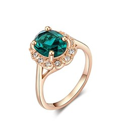 cheap Rings-Women's Statement Ring Fashion Rose Gold Costume Jewelry Daily