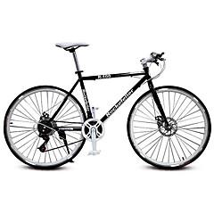お買い得  自転車-ロードバイク サイクリング 21スピード 26 inch/700CC SHIMANO TX30 ダブルディスクブレーキ 普通 モノコック 普通 スチール