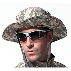 ESDY Camouflage Outdoor Fishing Windproof Polyester Shade Rounded Edges Ben Nepalese Hat ACU