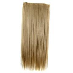 preiswerte Perücken & Haar Verlängerungen-Haar-Verlängerung Klassisch Clip In / On Alltag Gute Qualität Echthaar Haarverlängerungen