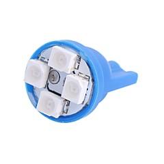 billige Interiørlamper til bil-SO.K T10 Bil Elpærer 4W W SMD 3528 120lm lm 4 interiør Lights