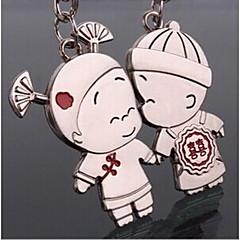pari romanttinen häät avaimenperään avaimenperä rakastaja Ystävänpäivä (yksi pari)