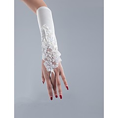 cheap Party Gloves-Polyester Satin Net Opera Length Glove Classical Bridal Gloves Party/ Evening Gloves With Solid