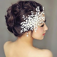 Tree Pearl Wedding Headpiece Hair Combs