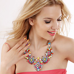 cheap Necklaces-Women's Statement Necklace - Statement Cute Style Fashion European Necklace For Party Special Occasion Birthday Gift