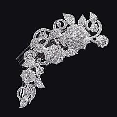 Χαμηλού Κόστους -rhinestone χτένες μαλλιών κερί κομμάτι γάμου κομψό θηλυκό στυλ