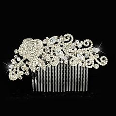 נשים נערת פרחים סגסוגת כיסוי ראש-חתונה אירוע מיוחד מסרקי שיער חלק 1