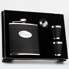 cheap Groom Gifts-Stainless Steel Hip Flasks Groom Groomsman Couple Parents Wedding Anniversary Birthday Business