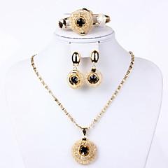 baratos Conjuntos de Bijuteria-Mulheres Fofo Outros Conjunto de jóias Bracelete / Brincos / Colares - Regular / Vintage / Festa Para Festa