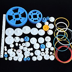 cheap -80 Kinds of Plastic Gear Motor Gear Gearbox Package Robot Accessories Kit