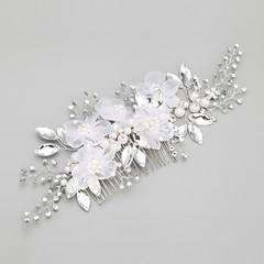 cheap Hair Jewelry-Imitation Pearl Alloy Hair Combs Headpiece Classical Feminine Style