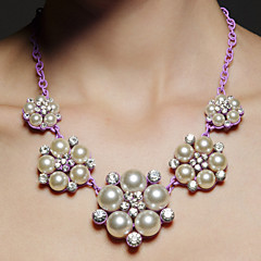 Wedding/Party Pink Pearl Necklaces Elegant Classical Feminine Style