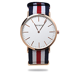 Men's Watch Gaya Sederhana Analog Nilon Band Kanvas Ultrathin TREMON Kuarsa Menonton Cool Watches Unique Watches Fashion Watch