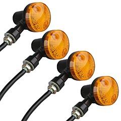 abordables -4pcs Moto Ampoules électriques W lm LED Moto ForUniversel