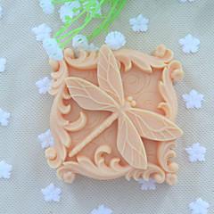 رخيصةأون صواني الخبز-1PC بلاستيك كعكة قوالب الكيك أدوات خبز