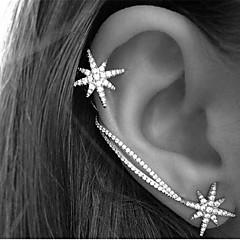 minimalistyczny styl Kryształ górski Star Shape Kolor ekranu Biżuteria Na