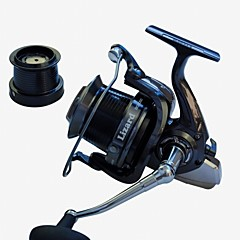 EXcellent 14 Ball Bearings  10000size 4.1:1  Surf fishing  reel  Spinning Reels fishing rolls sea metal reel Exchangable