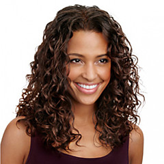 cheap Wigs & Hair Pieces-Human Hair Full Lace Wig Brazilian Hair Curly Wig 120% Density 12 inch with Baby Hair Ombre Hair Natural Hairline African American Wig 100% Hand Tied Women's Medium Length Human Hair Lace Wig