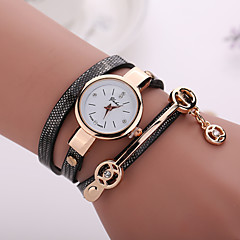 cheap -New Fashion  Women Dress Wristwatch Vintage Quartz Analog Watch Strap Watch New Bracelet Quartz  PU Wrist Watch Cool Watches Unique Watches