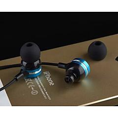 In Ear Wired Headphones Plastic Mobile Phone Earphone Headset