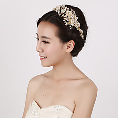 cheap Hair Jewelry-Pearl Crystal Imitation Pearl Headbands 1 Wedding Special Occasion Headpiece