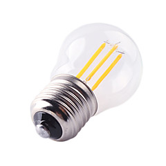 cheap Lamps&Lights-1pc 4W 360lm E26 / E27 LED Filament Bulbs G45 4 LED Beads COB Decorative Warm White Cold White 220-240V