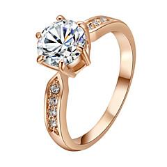 お買い得  指輪-- 王女 クラシック ゴールド シルバー リング 用途 パーティー パーティー/フォーマル