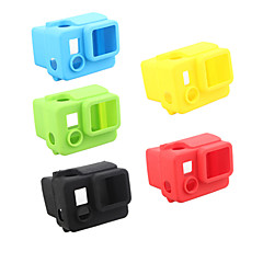 cheap Sports Action Cameras & Accessories  For Gopro-Smooth Frame Protective Case Convenient For Action Camera Gopro 4 Black Gopro 4 Silver Gopro 4 Gopro 3+ Gopro 2 Silicone