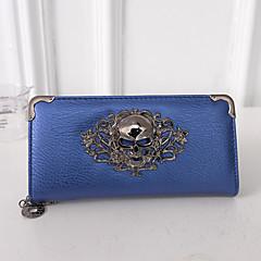Χαμηλού Κόστους Bags on sale-Γυναικείο Τσάντες PU Τσαντάκι Πορτοφόλι για Εκδήλωση/Πάρτι Causal Επίσημο Όλες οι εποχές Χρυσό Μαύρο Ασημί Φούξια Μπλε