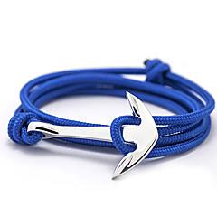 Men's Women's Charm Bracelet Friendship Bracelets Wrap Bracelet Basic Friendship Fashion Alloy Anchor Jewelry For Daily Casual Christmas