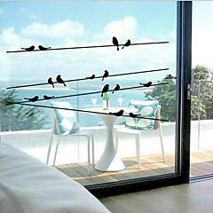 tanie Akcesoria okienne-Klasyczny - Wzór zwierzęcy - Naklejka na okno