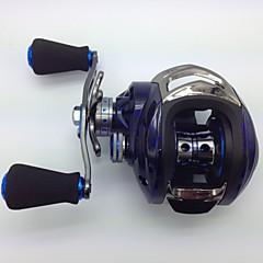 Baitcast Reels 6.3:1 15 Ball Bearings Left-handed Bait Casting / Freshwater Fishing / Lure Fishing - KW150 L MING JU WU