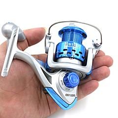 billiga Fiskerullar-Snurrande hjul 5.2:1 Växlingsförhållande+8.0 Kullager Hand Orientering utbytbar Sjöfiske Kastfiske Isfiske Spinnfiske Färskvatten Fiske