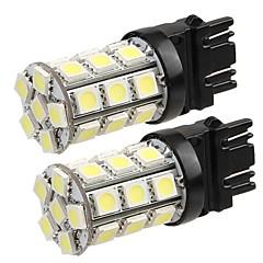 billige Interiørlamper til bil-T20 Bil Elpærer W SMD 5050 lm 27 LED utvendig Lights ForUniversell