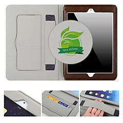 luxo multifuncional ficam super slim auto couro sleep / wake-up caso para ipad mini-maçã 3/2/1 (cores sortidas)