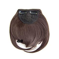 billiga Peruker och hårförlängning-Korta Syntetiskt hår HÅRFÖRLÄNGNING Rak Klämma in 1st Annat Dagligen Hög kvalitet Dam Syntetiska utsträckningar Hårförlängningar av äkta