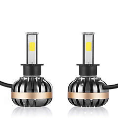 cheap Car Headlights-2pcs H1 Car Light Bulbs 80W 3600lm