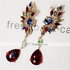 Žene Viseće naušnice Sintetički gemstones Kubični Zirconia Imitacija dijamanta Legura Wings / Perje Jewelry Za