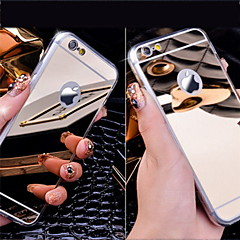 Für iPhone 6 Hülle iPhone 6 Plus Hülle iPhone 5 Hülle Hüllen Cover Beschichtung Spiegel Rückseitenabdeckung Hülle Volltonfarbe Hart Acryl
